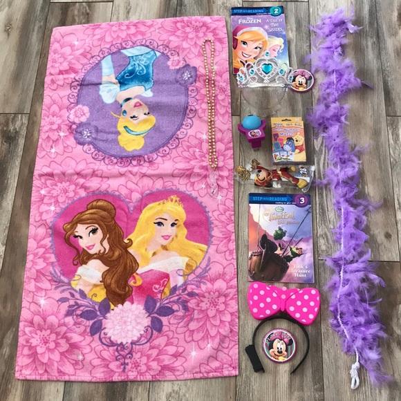 Disney Princess Minnie Frozen Tinkerbell Books